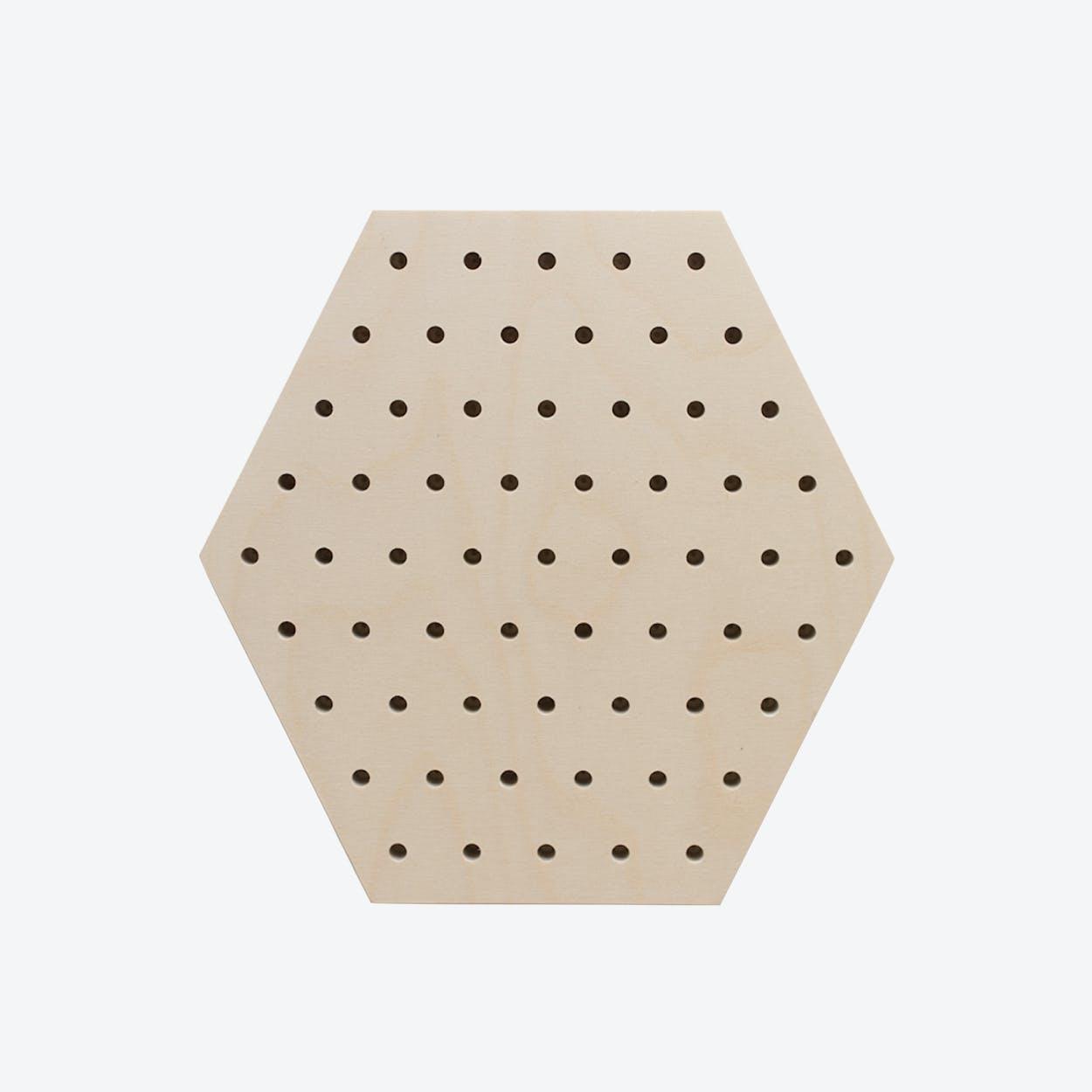 Hexagon Pegboard