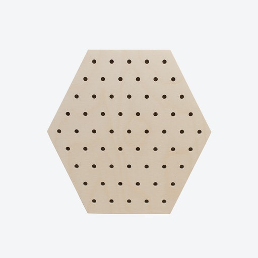 Hexagon Pegboard