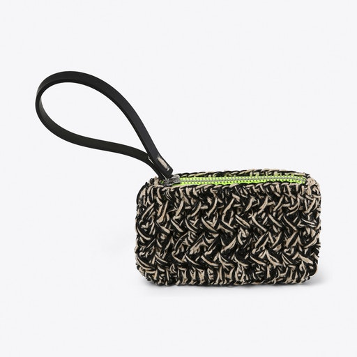 Neon Crochet Clutch Small