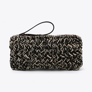 Neon Crochet Clutch Large