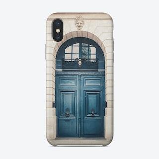 Paris Door Phone Case