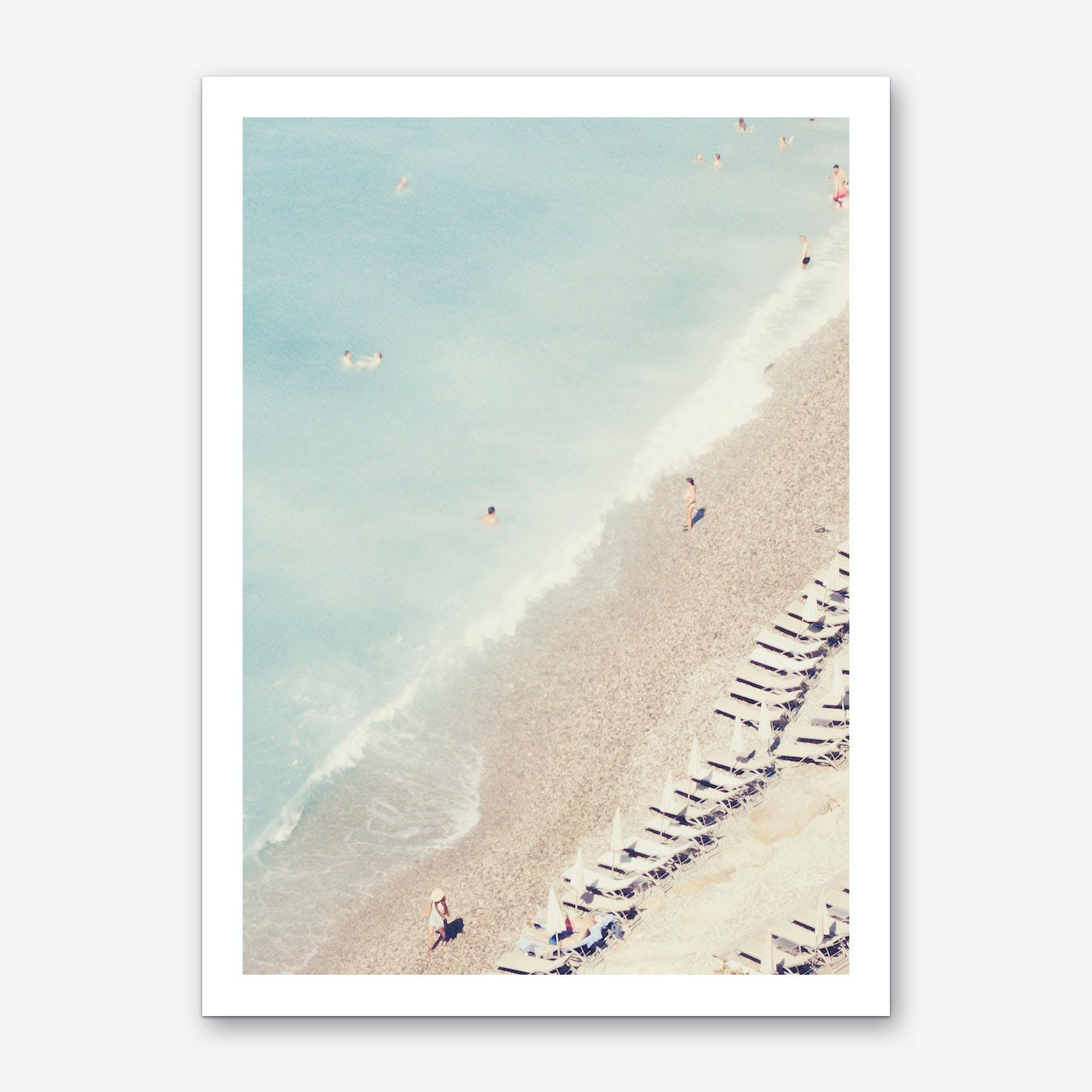 Riviera Blues Art Print