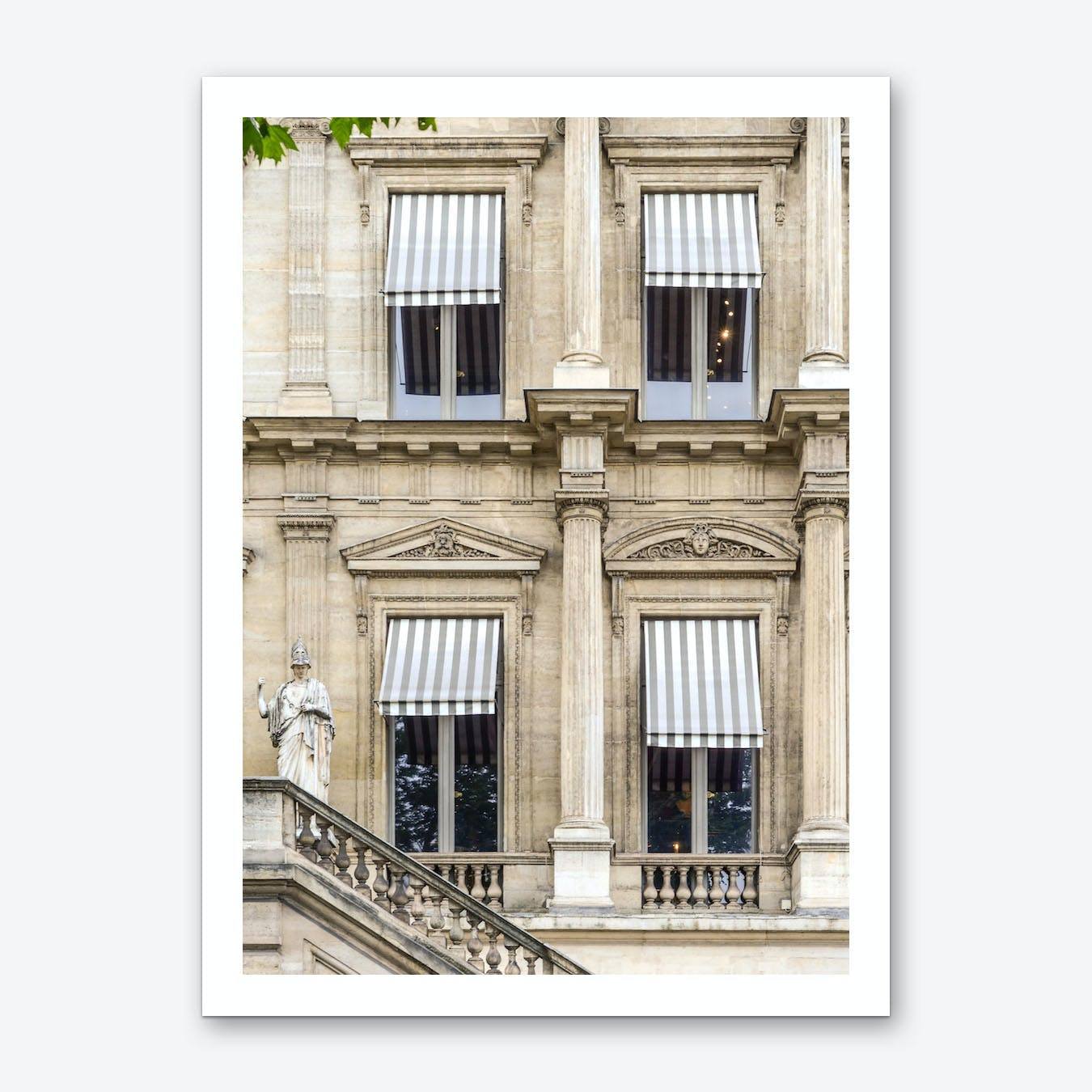 Paris Awning Art Print