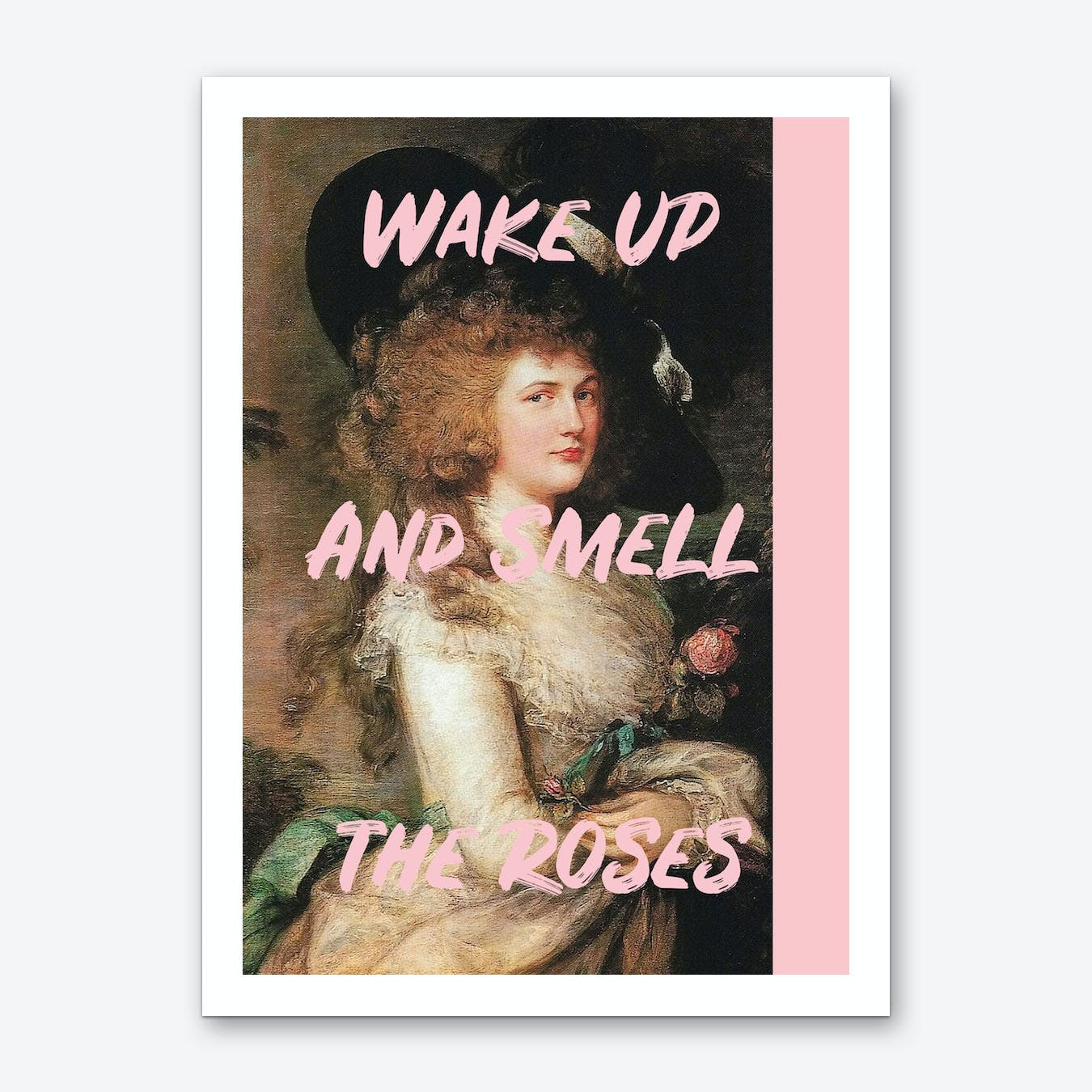 Smell the Roses Art Print
