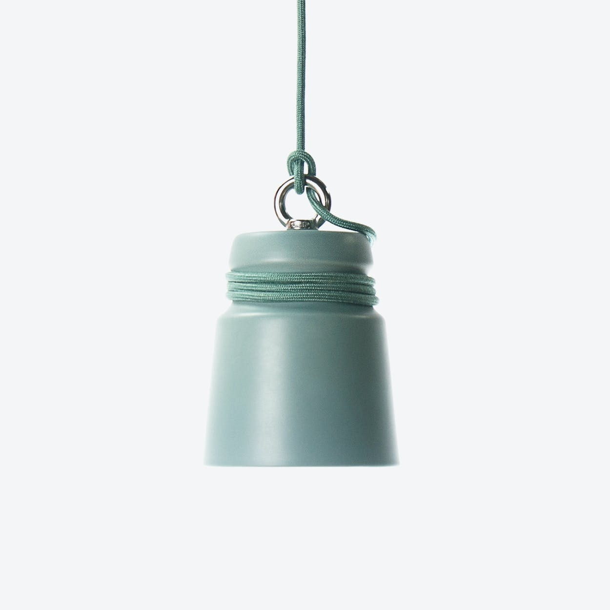 Small Cable Light - Sage Green
