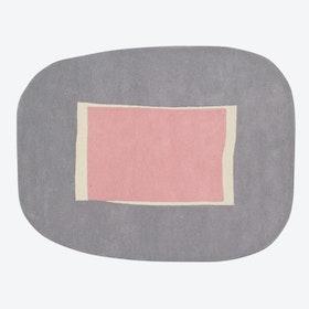 Wool Rug Lake Pink