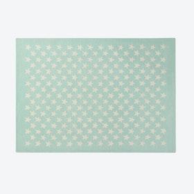 Wool Rug Little Star Soft Mint