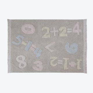 Washable Rug Baby Numbers