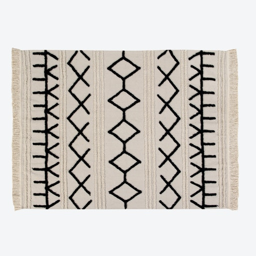 Washable Rug Bereber Canvas