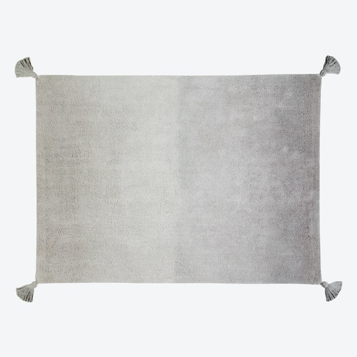 Washable Rug Ombré Dark Grey-Grey