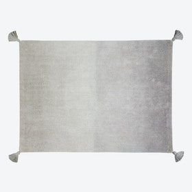 Washable Rug Ombré Dark Grey-Grey