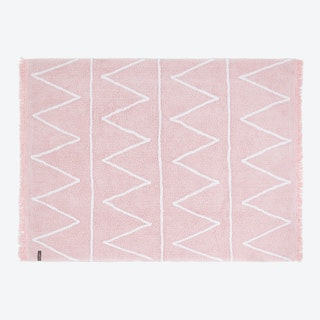 Washable Rug Hippy Pink