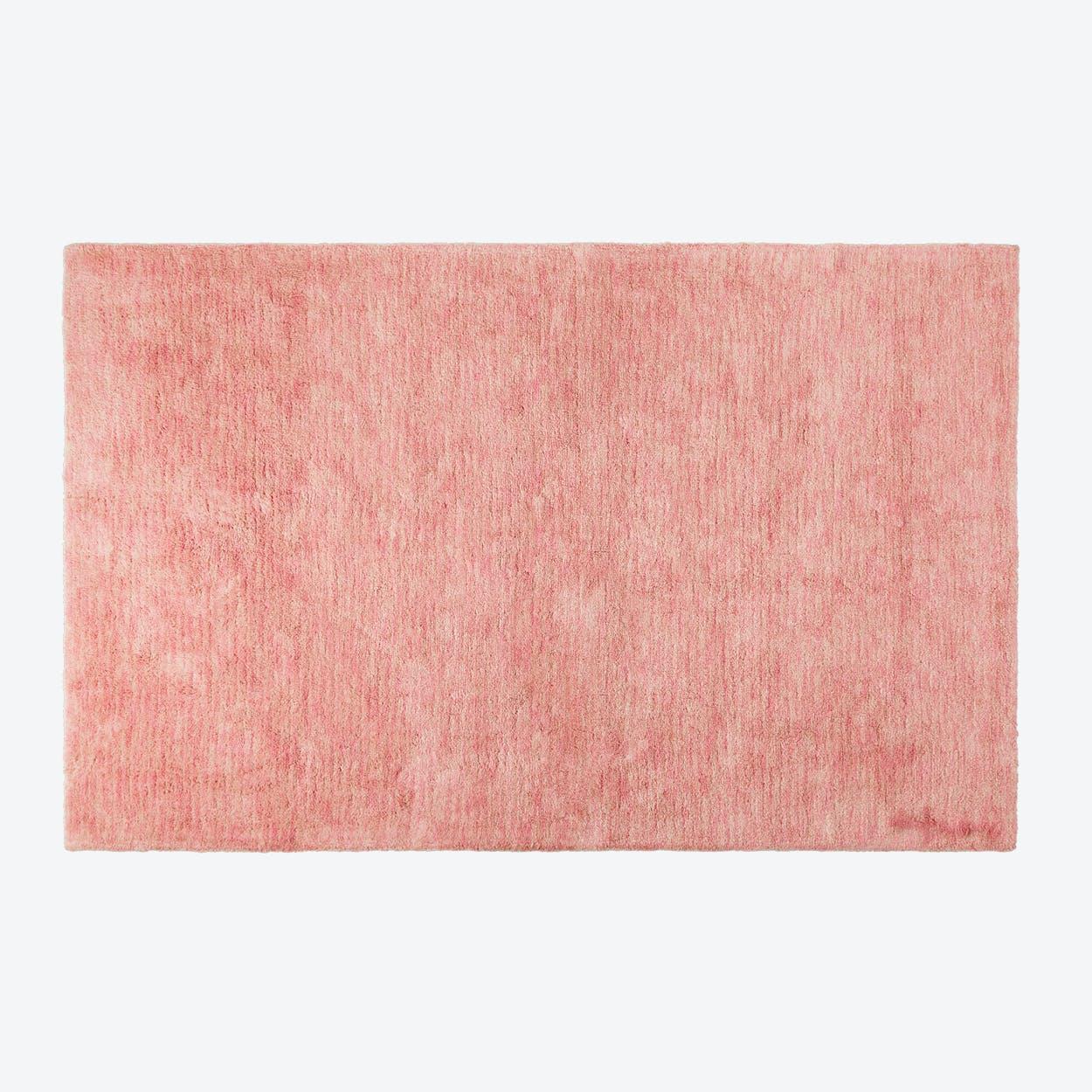 Washable Rug Mix Flamingo Pink