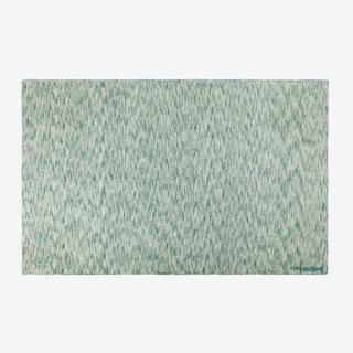 Washable Rug Mix Emerald Green
