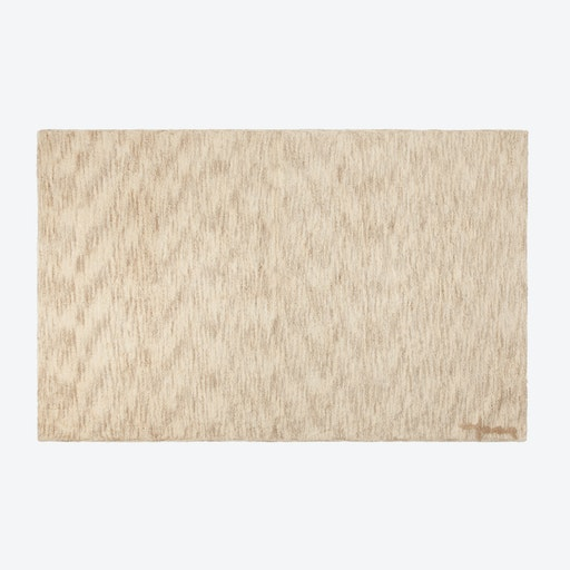 Washable Rug Mix Sand Beige
