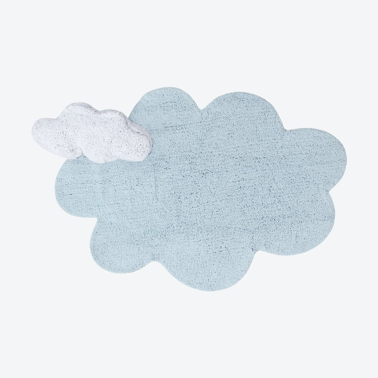 Washable Rug Puffy Dream Blue