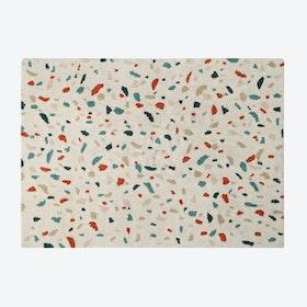 Washable Rug Terrazzo Marble