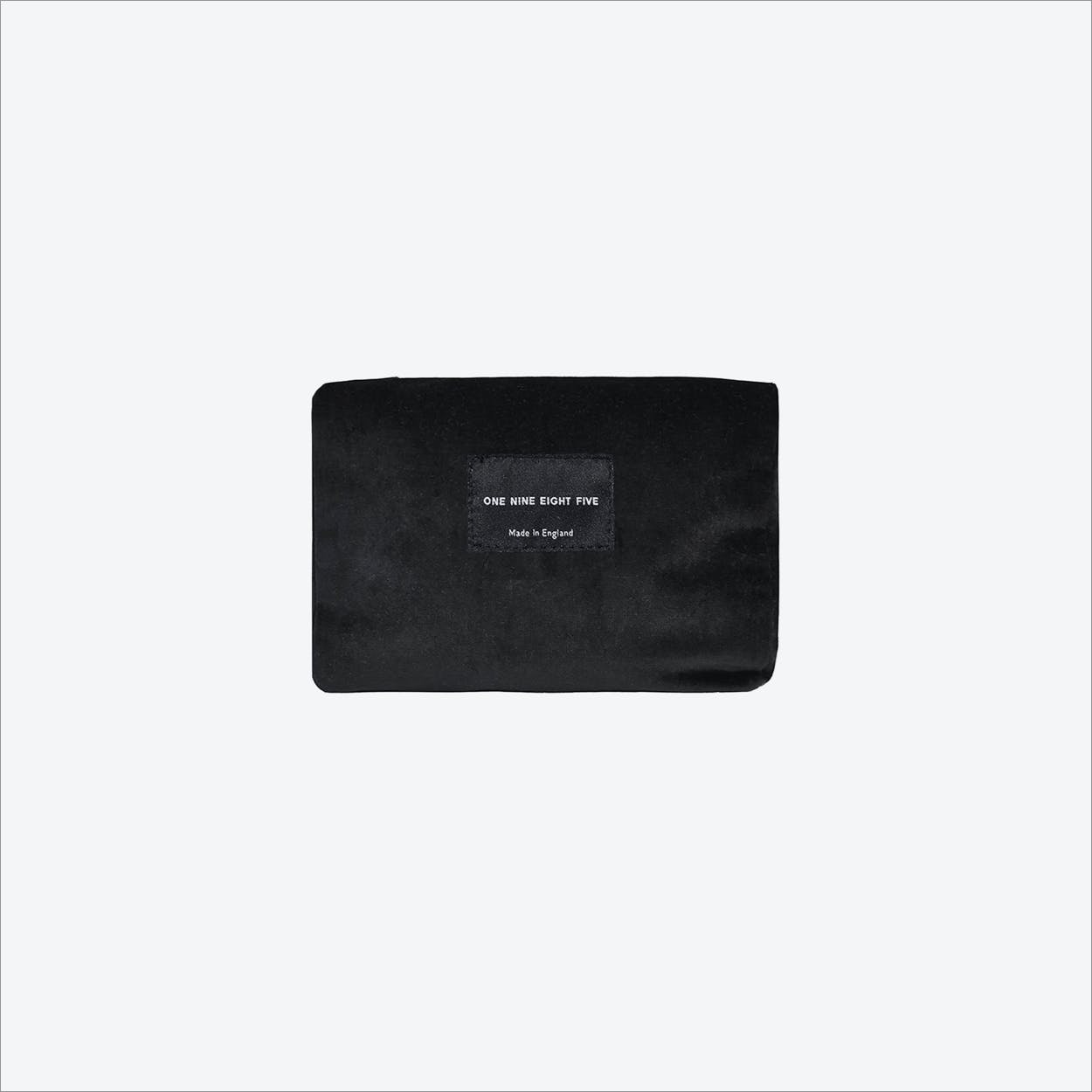 Small Zip Pouch in Black