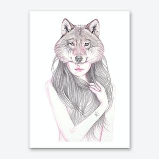 Wolfheart Art Print