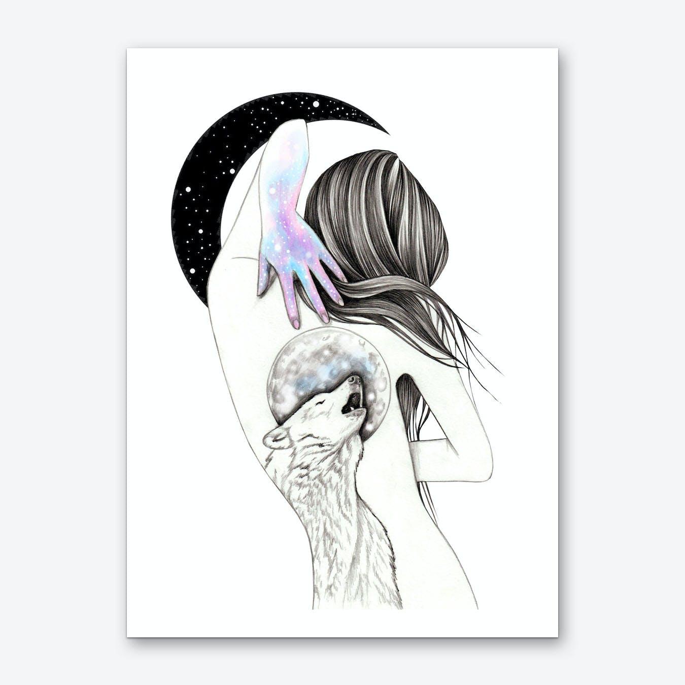 Moon Coven Art Print