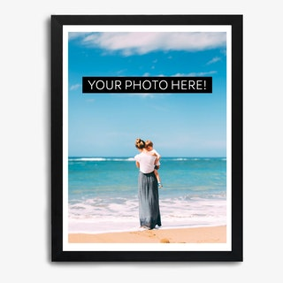 Framed Photo Portrait Print