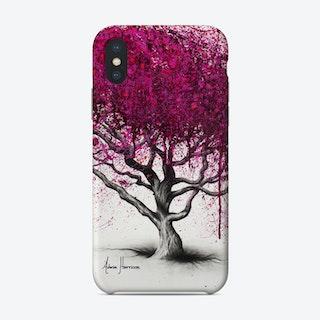 Pink Plum Park Phone Case