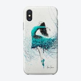 Turquoise Ocean Dancer Phone Case