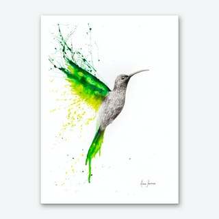 Emerald Sun Art Print