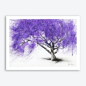 Meet You At The Jacaranda Art Print