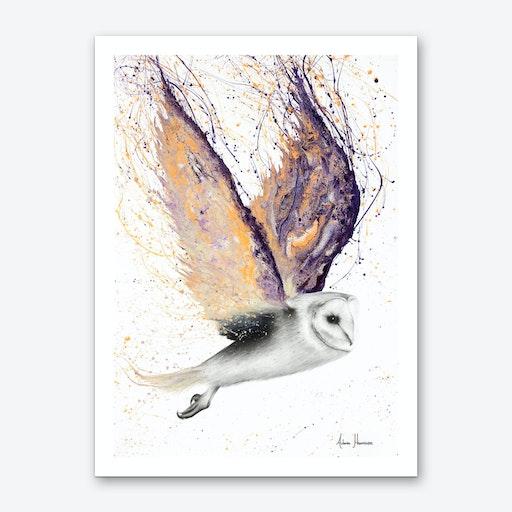 Opal Winged Owl