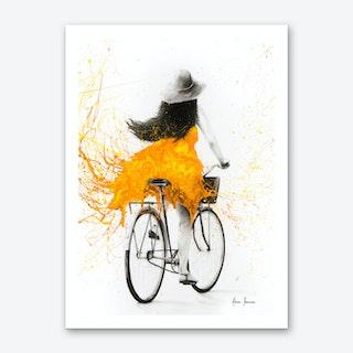 Sunflower Sunday Art Print