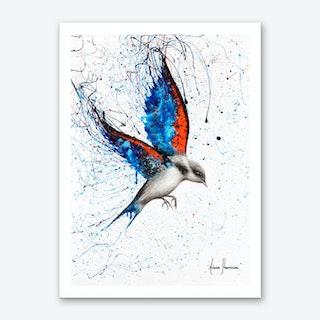Sunset Sorrento Wings Art Print