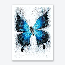 The Butterfly Tattoo Art Print