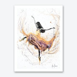 Violetta Ballerina Art Print