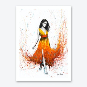 Electric Flame Art Print