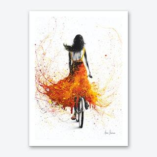 Finding Flames Art Print