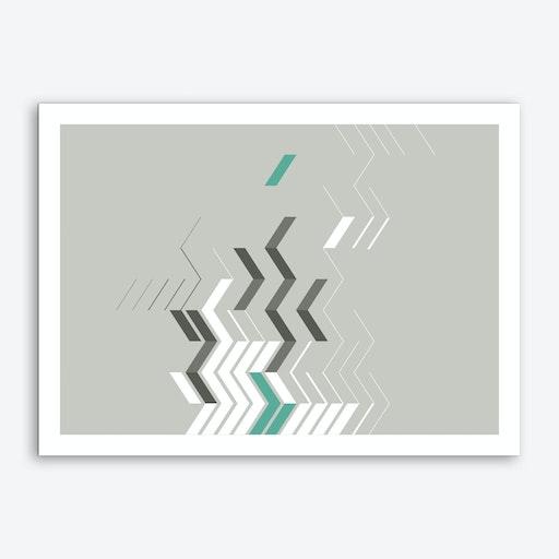 Chevron II Art Print