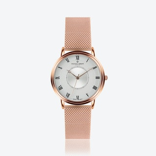 Rose Grand Combin Watch w/ Rose Gold Strap