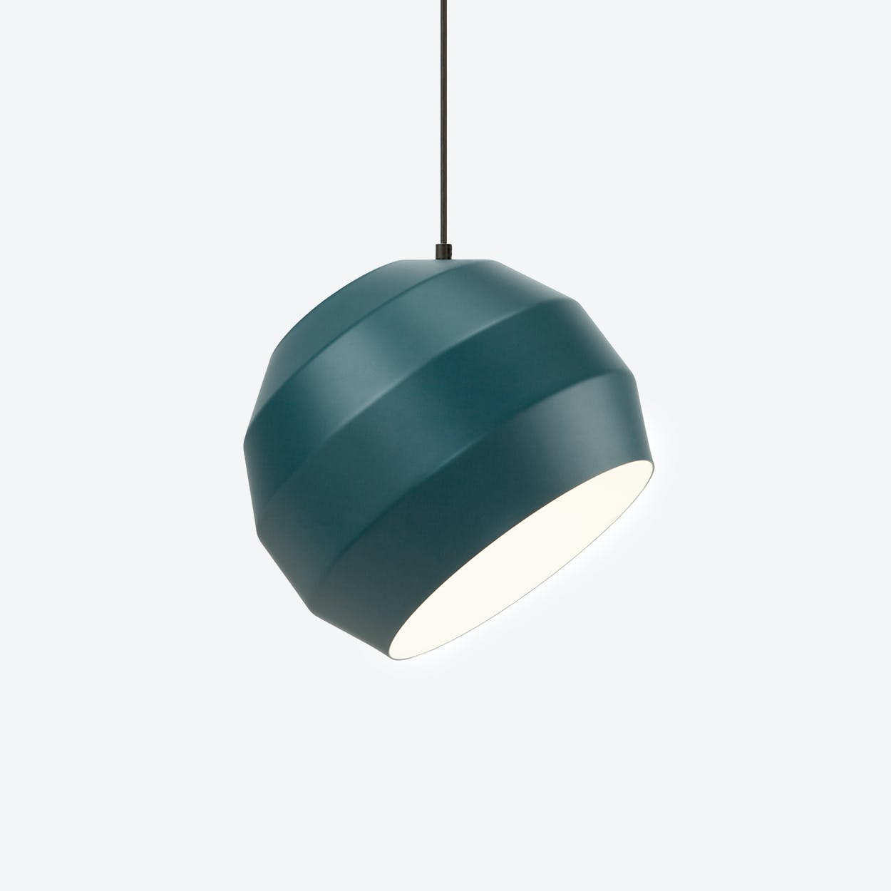 Pitch Pendant Light in Blue