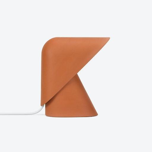 K Table Lamp in Terracotta