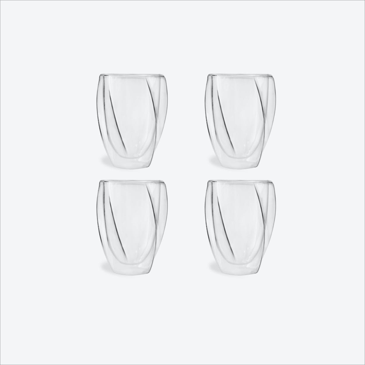 Cristallo Coffee Cup, 300mL (set of 4)