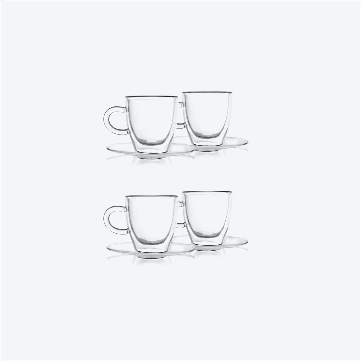 Amo Espresso Cup w/ Saucer (set of 4)