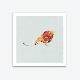 Lion Art Print I