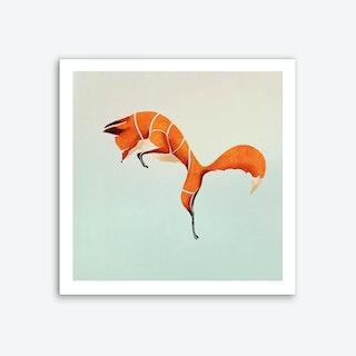 Fox Art Print I