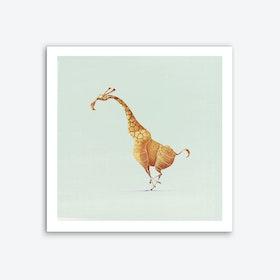 Giraffe Art Print I