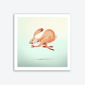 Rabbit Art Print I
