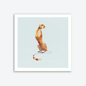 Elegant Cheetah Art Print
