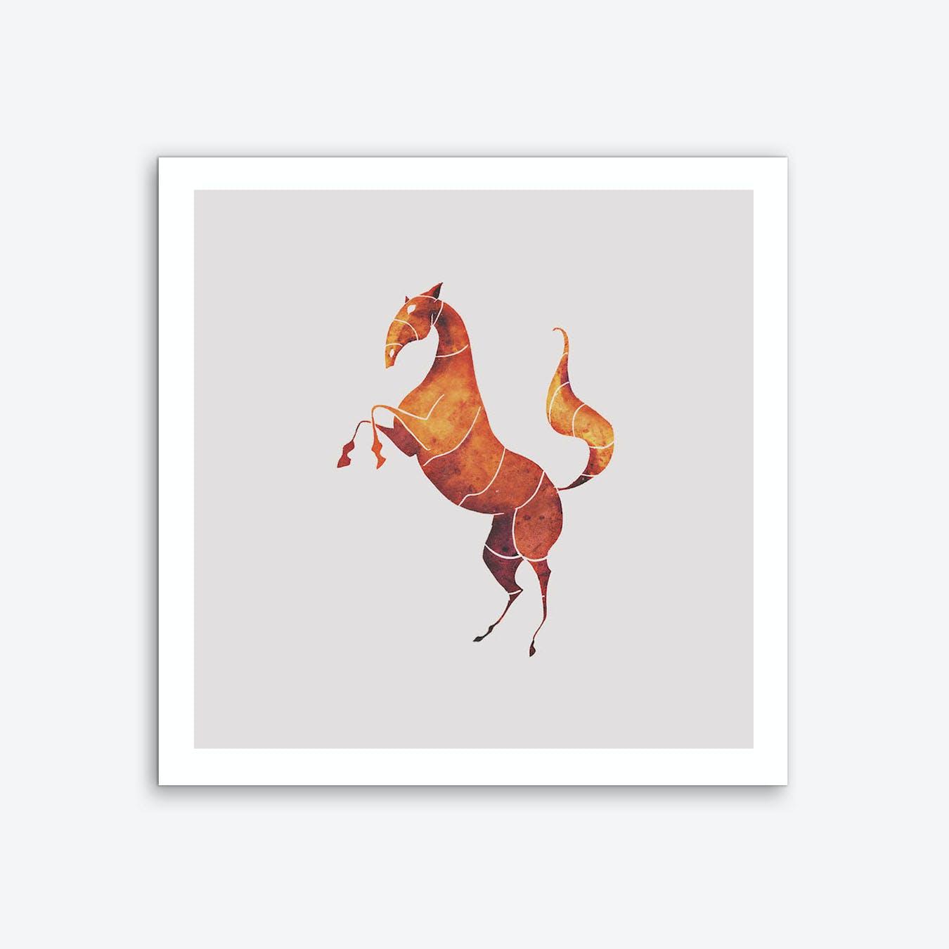 Horse Art Print II