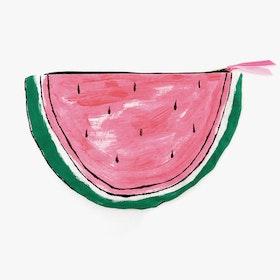 Watermelon Zip Pouch Clutch