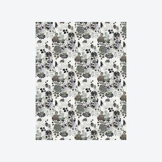 PomPom Wallpaper - Cream